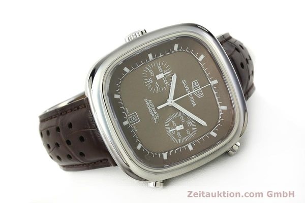Used luxury watch Tag Heuer Silverstone chronograph steel automatic Kal. 11 ETA 2892A2 Ref. CAM2111 LIMITED EDITION | 150191 03