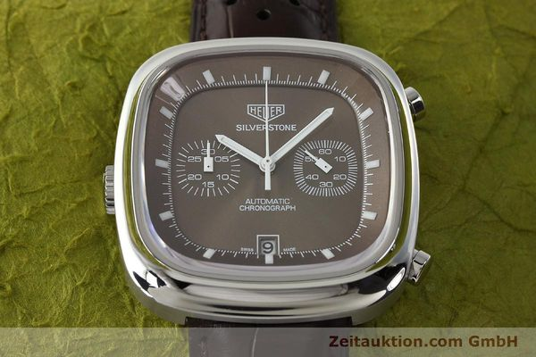 Used luxury watch Tag Heuer Silverstone chronograph steel automatic Kal. 11 ETA 2892A2 Ref. CAM2111 LIMITED EDITION | 150191 16