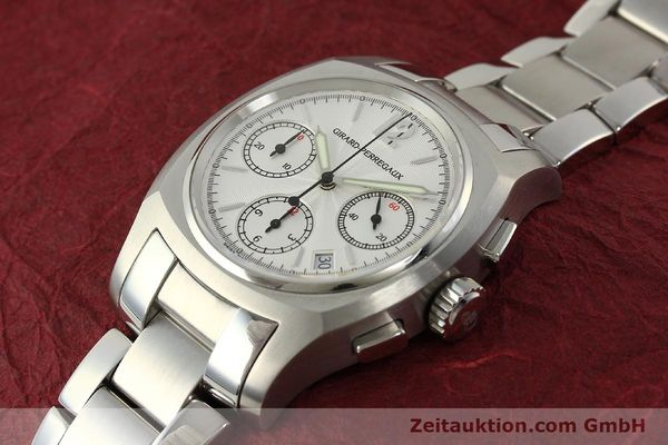Used luxury watch Girard Perregaux * chronograph steel automatic Kal. 22CO.S Ref. 2498  | 150192 01