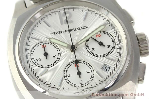Used luxury watch Girard Perregaux * chronograph steel automatic Kal. 22CO.S Ref. 2498  | 150192 02