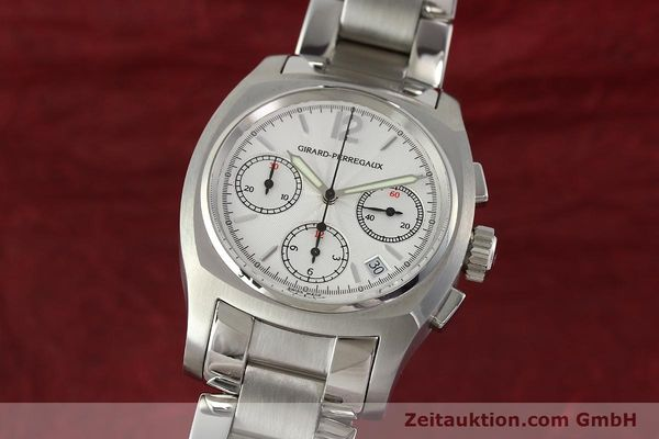 Used luxury watch Girard Perregaux * chronograph steel automatic Kal. 22CO.S Ref. 2498  | 150192 04