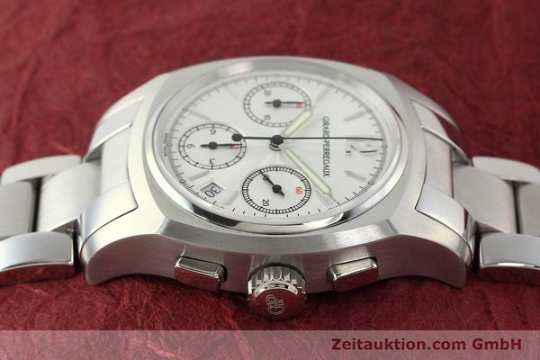 Used luxury watch Girard Perregaux * chronograph steel automatic Kal. 22CO.S Ref. 2498  | 150192 05