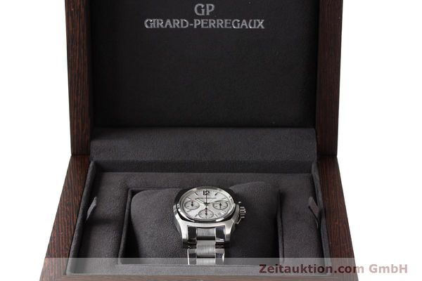 Used luxury watch Girard Perregaux * chronograph steel automatic Kal. 22CO.S Ref. 2498  | 150192 07