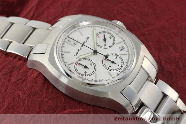 Used luxury watch Girard Perregaux * chronograph steel automatic Kal. 22CO.S Ref. 2498  | 150192 15