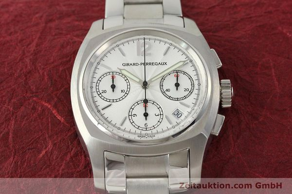 Used luxury watch Girard Perregaux * chronograph steel automatic Kal. 22CO.S Ref. 2498  | 150192 16