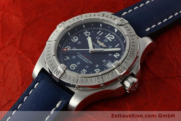 Used luxury watch Breitling Colt steel quartz Kal. B74 ETA 955652 Ref. A74380  | 150196 01