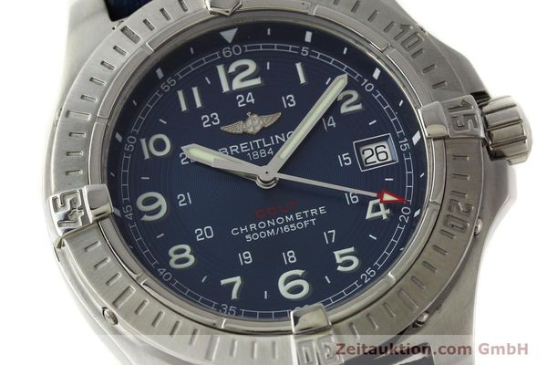 Used luxury watch Breitling Colt steel quartz Kal. B74 ETA 955652 Ref. A74380  | 150196 02