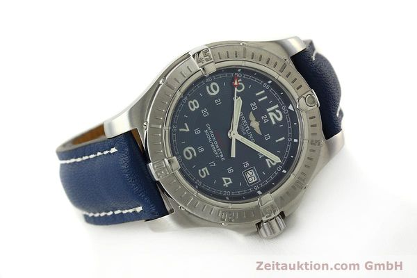 Used luxury watch Breitling Colt steel quartz Kal. B74 ETA 955652 Ref. A74380  | 150196 03