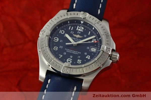 Used luxury watch Breitling Colt steel quartz Kal. B74 ETA 955652 Ref. A74380  | 150196 04