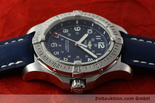 Used luxury watch Breitling Colt steel quartz Kal. B74 ETA 955652 Ref. A74380  | 150196 05
