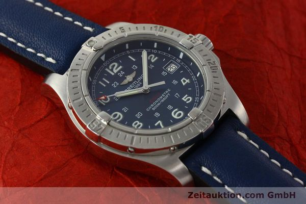 Used luxury watch Breitling Colt steel quartz Kal. B74 ETA 955652 Ref. A74380  | 150196 12