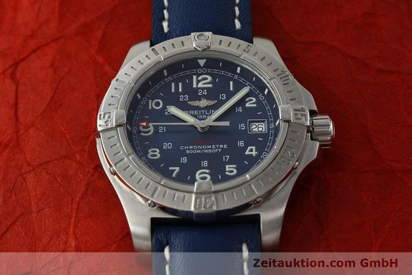 Used luxury watch Breitling Colt steel quartz Kal. B74 ETA 955652 Ref. A74380  | 150196 13