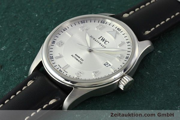Used luxury watch IWC Mark XVI steel automatic Kal. 30110 Ref. 3255  | 150199 01