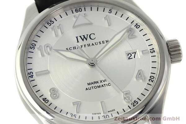 Used luxury watch IWC Mark XVI steel automatic Kal. 30110 Ref. 3255  | 150199 02