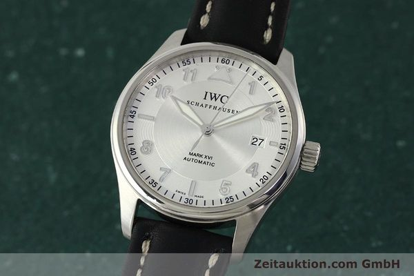 Used luxury watch IWC Mark XVI steel automatic Kal. 30110 Ref. 3255  | 150199 04
