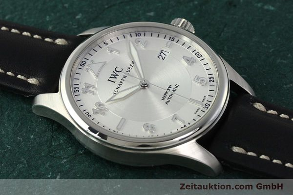 Used luxury watch IWC Mark XVI steel automatic Kal. 30110 Ref. 3255  | 150199 14