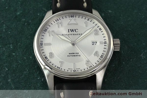 Used luxury watch IWC Mark XVI steel automatic Kal. 30110 Ref. 3255  | 150199 15