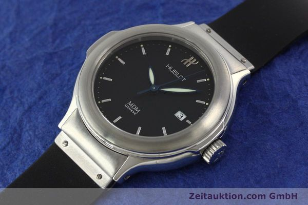 Used luxury watch Hublot MDM steel automatic Kal. ETA 2000-1 Ref. 1430.1  | 150200 01