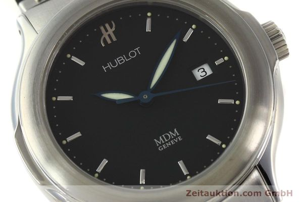 Used luxury watch Hublot MDM steel automatic Kal. ETA 2000-1 Ref. 1430.1  | 150200 02
