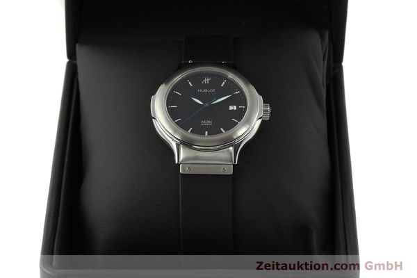 Used luxury watch Hublot MDM steel automatic Kal. ETA 2000-1 Ref. 1430.1  | 150200 07