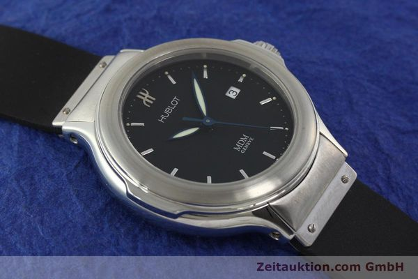 Used luxury watch Hublot MDM steel automatic Kal. ETA 2000-1 Ref. 1430.1  | 150200 14