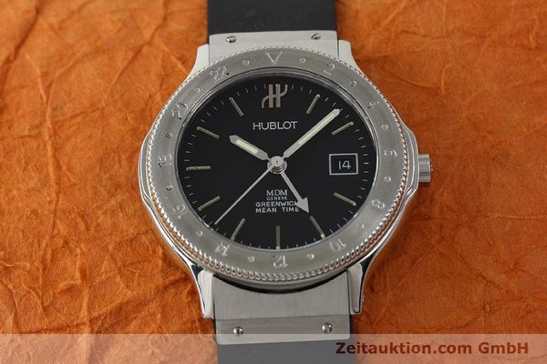 Used luxury watch Hublot MDM steel automatic Kal. 9505 Ref. S146.101  | 150201 15