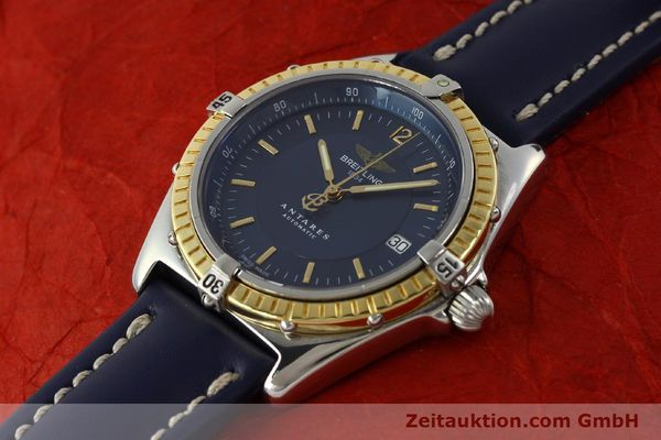 Used luxury watch Breitling Antares steel / gold automatic Kal. B10 ETA 2892-2 Ref. D10047  | 150203 01