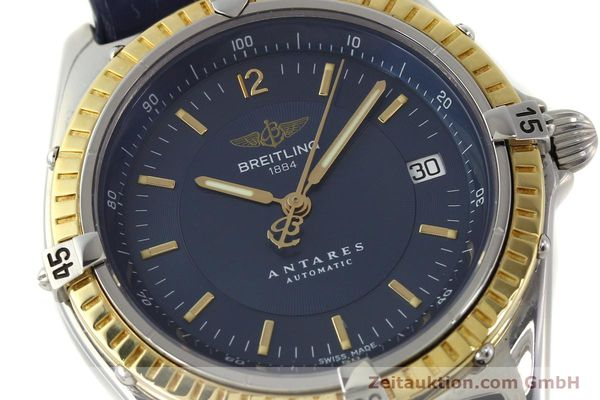 Used luxury watch Breitling Antares steel / gold automatic Kal. B10 ETA 2892-2 Ref. D10047  | 150203 02