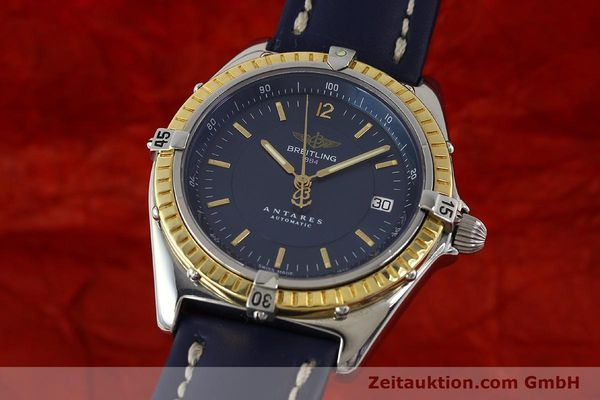 Used luxury watch Breitling Antares steel / gold automatic Kal. B10 ETA 2892-2 Ref. D10047  | 150203 04