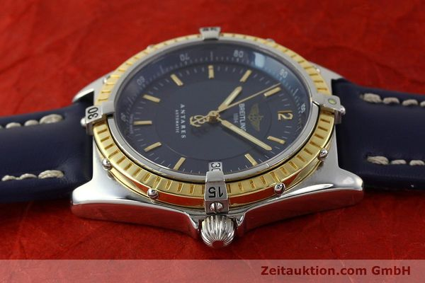 Used luxury watch Breitling Antares steel / gold automatic Kal. B10 ETA 2892-2 Ref. D10047  | 150203 05