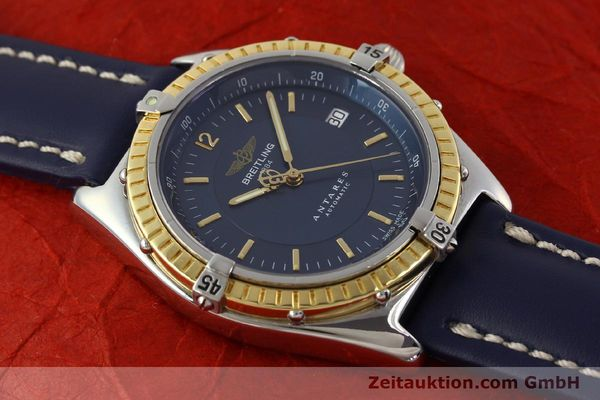 Used luxury watch Breitling Antares steel / gold automatic Kal. B10 ETA 2892-2 Ref. D10047  | 150203 13