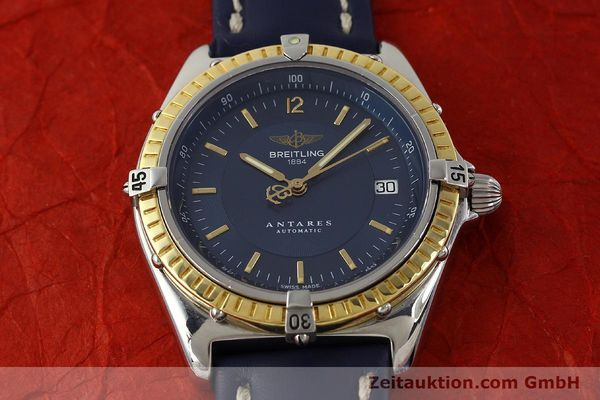 Used luxury watch Breitling Antares steel / gold automatic Kal. B10 ETA 2892-2 Ref. D10047  | 150203 14
