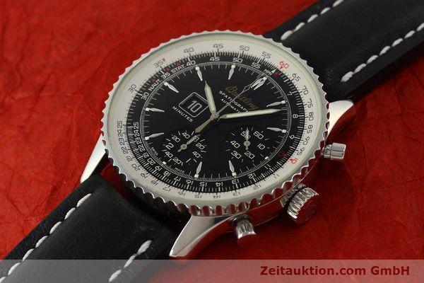 Used luxury watch Breitling Montbrillant chronograph steel automatic Kal. B36 ETA 2892A2 Ref. A36030.1  | 150204 01