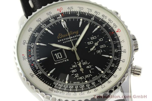 Used luxury watch Breitling Montbrillant chronograph steel automatic Kal. B36 ETA 2892A2 Ref. A36030.1  | 150204 02