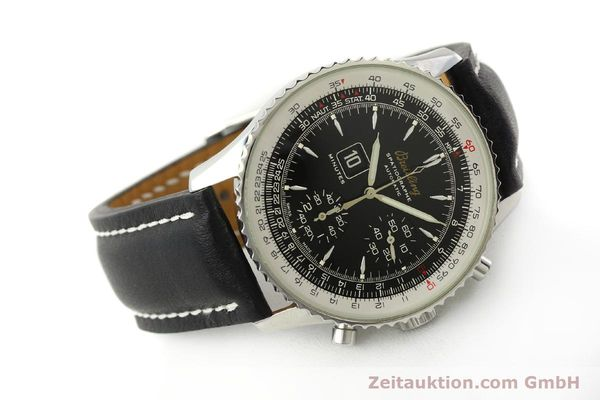 Used luxury watch Breitling Montbrillant chronograph steel automatic Kal. B36 ETA 2892A2 Ref. A36030.1  | 150204 03
