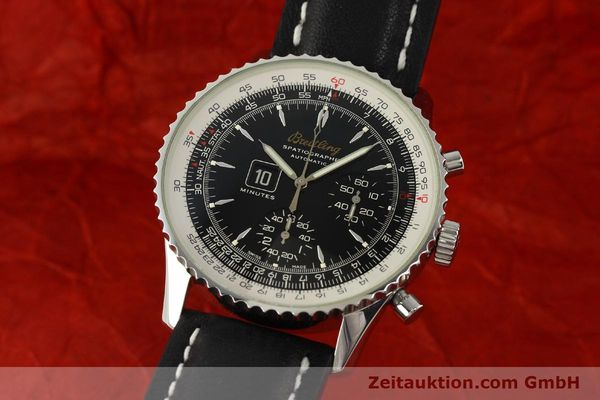 Used luxury watch Breitling Montbrillant chronograph steel automatic Kal. B36 ETA 2892A2 Ref. A36030.1  | 150204 04