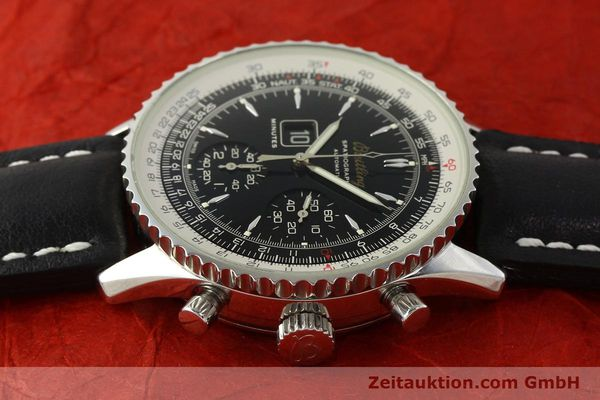Used luxury watch Breitling Montbrillant chronograph steel automatic Kal. B36 ETA 2892A2 Ref. A36030.1  | 150204 05