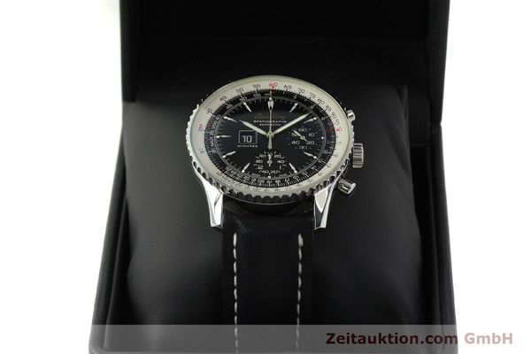 Used luxury watch Breitling Montbrillant chronograph steel automatic Kal. B36 ETA 2892A2 Ref. A36030.1  | 150204 07