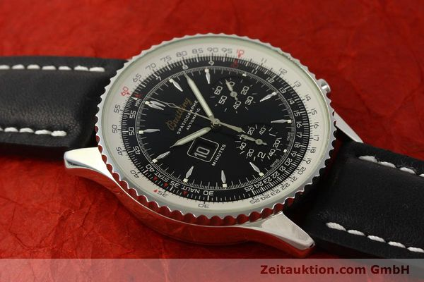 Used luxury watch Breitling Montbrillant chronograph steel automatic Kal. B36 ETA 2892A2 Ref. A36030.1  | 150204 14