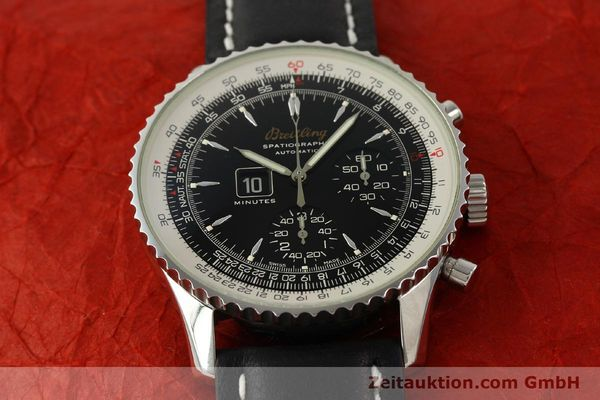 Used luxury watch Breitling Montbrillant chronograph steel automatic Kal. B36 ETA 2892A2 Ref. A36030.1  | 150204 15