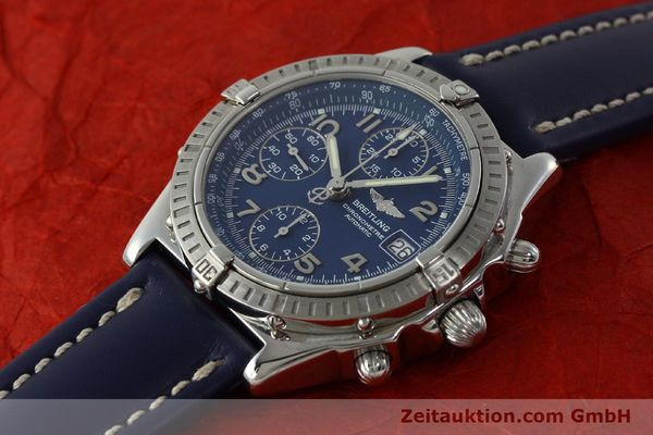 Used luxury watch Breitling Chronomat chronograph steel automatic Kal. B13 ETA 7750 Ref. A13352  | 150206 01