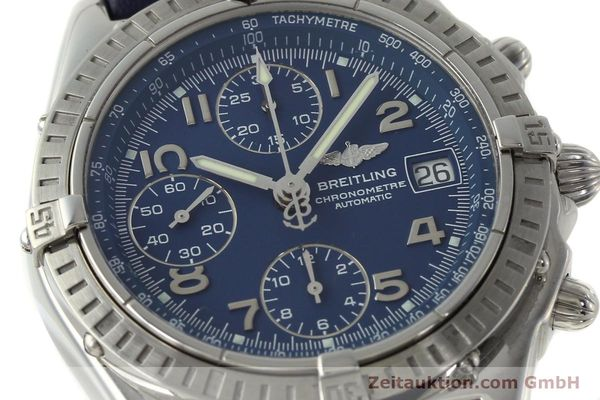 Used luxury watch Breitling Chronomat chronograph steel automatic Kal. B13 ETA 7750 Ref. A13352  | 150206 02