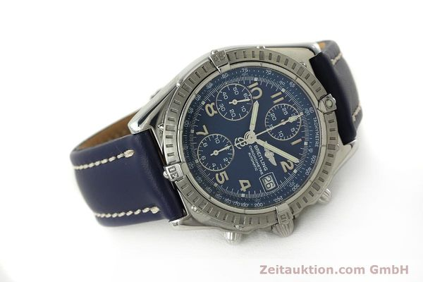 Used luxury watch Breitling Chronomat chronograph steel automatic Kal. B13 ETA 7750 Ref. A13352  | 150206 03