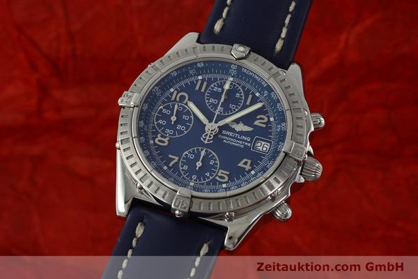 Used luxury watch Breitling Chronomat chronograph steel automatic Kal. B13 ETA 7750 Ref. A13352  | 150206 04