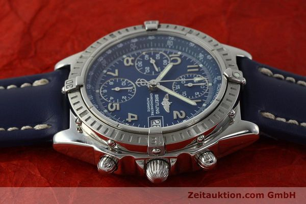 Used luxury watch Breitling Chronomat chronograph steel automatic Kal. B13 ETA 7750 Ref. A13352  | 150206 05
