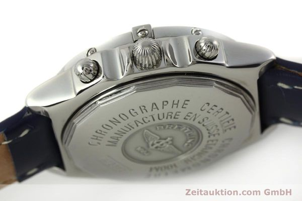 Used luxury watch Breitling Chronomat chronograph steel automatic Kal. B13 ETA 7750 Ref. A13352  | 150206 11