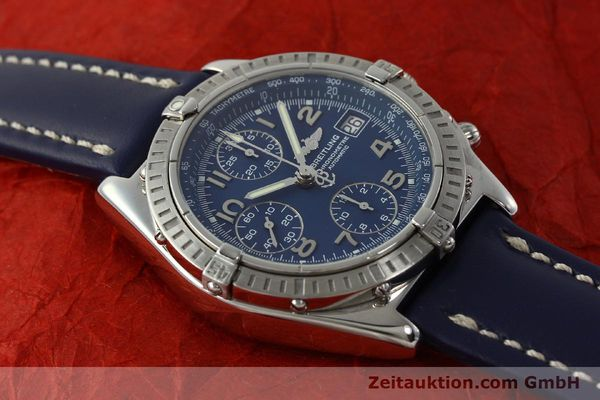 Used luxury watch Breitling Chronomat chronograph steel automatic Kal. B13 ETA 7750 Ref. A13352  | 150206 16