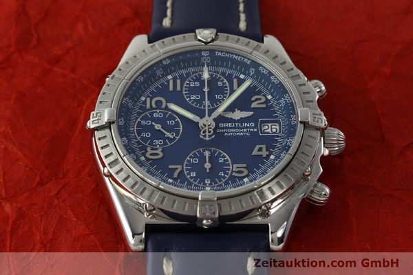 Used luxury watch Breitling Chronomat chronograph steel automatic Kal. B13 ETA 7750 Ref. A13352  | 150206 17