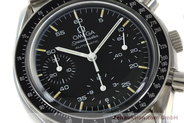 Used luxury watch Omega Speedmaster chronograph steel automatic Kal. 1143 ETA 2890A2  | 150219 02