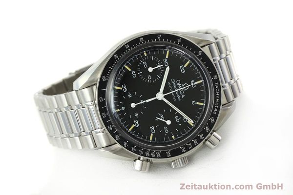 Used luxury watch Omega Speedmaster chronograph steel automatic Kal. 1143 ETA 2890A2  | 150219 03